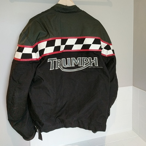 Triumph workshop navy blue jacket size XXXL Brand new
